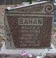 Sarah Catherine <I>Thompson</I> Bahan