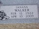 "Janana ""Jane"" Walker"