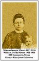 Minnie Georgia <I>Williams</I> Miears
