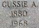 Profile photo:  Gussie A <I>McClellan</I> Baird