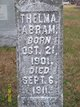 Profile photo:  Thelma Lucille Abram