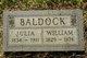 Profile photo:  William Baldock