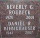 Profile photo:  Daniel R. Biebighauser