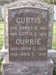 Profile photo:  Lottie E. <I>Currie</I> Curtis