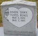 Davon Dawn <I>Snipes</I> Rewis