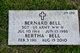 Profile photo:  Bertha Bell
