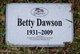 Betty Ruth <I>Wallace</I> Dawson
