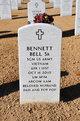 Profile photo:  Bennett Bell, Sr