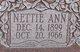 """Profile photo:  Adele Ann """"Nettie"""" Bobbitt"""