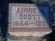Profile photo:  Annie M. Scott
