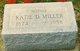 Katie Dorthia <I>Singer</I> Miller