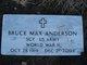 Profile photo: Sgt Bruce Max Anderson