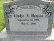 Profile photo:  Gladys A. <I>Tygart</I> Hanson