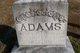 Profile photo:  Martha Jane <I>Tegarden</I> Adams