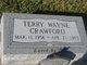 Profile photo:  Terry Wayne Crawford