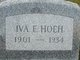 Iva Esther <I>Keller</I> Hoeh