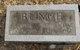 """Hiram Benjamin """"Hike"""" Bunch"""