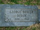 """George Buster """"Buster"""" Dixon"""