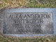 Laura <I>Anderton</I> Whitworth