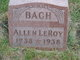 Profile photo:  Allen LeRoy Bach