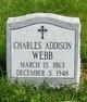 Profile photo:  Charles Addison Webb