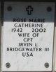 Rose Marie Catherine <I>Hayes</I> Bridgewater