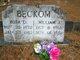 Rosa Dell <I>Entrekin</I> Beckom