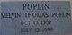 Melvin Thomas Poplin
