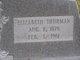 Ellen Elizabeth <I>Thurman</I> Ashmore