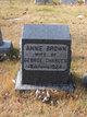 Profile photo:  Annie <I>Brown</I> Charles