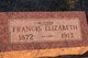 "Frances Elizabeth ""Fannie"" <I>Steele</I> Oglesby"