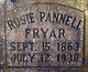 Rosa Lee <I>Pannell</I> Fryar