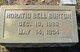 Horatio Bell Burton