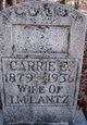 Carrie Etta <I>Lawrence</I> Lantz