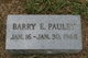 Barry E. Pauley