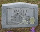 Ward Lee Pauley