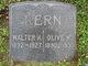 Olive M <I>Stephens</I> Kern