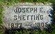 Profile photo:  Joseph E Snetting