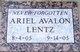 Profile photo:  Ariel Avalon Lentz