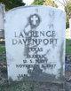 Profile photo:  Lawrence Davenport
