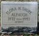 Profile photo:  Flora <I>Shupe</I> Alpaugh