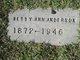 Betty Ann <I>Keener</I> Anderson