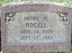 Profile photo:  Henry Manning Ancell
