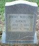 Jimmy Wayland Barker