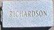 Profile photo:  Richardson