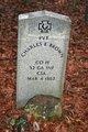 Profile photo: Pvt Charles E Brown