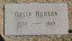Maj Orlin Hudson