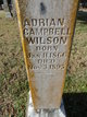 Adrian Campbell Wilson