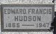 Edward Francis Hudson