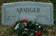 "Profile photo:  Agnes V. ""Aggie"" <I>Atwell</I> Armiger"